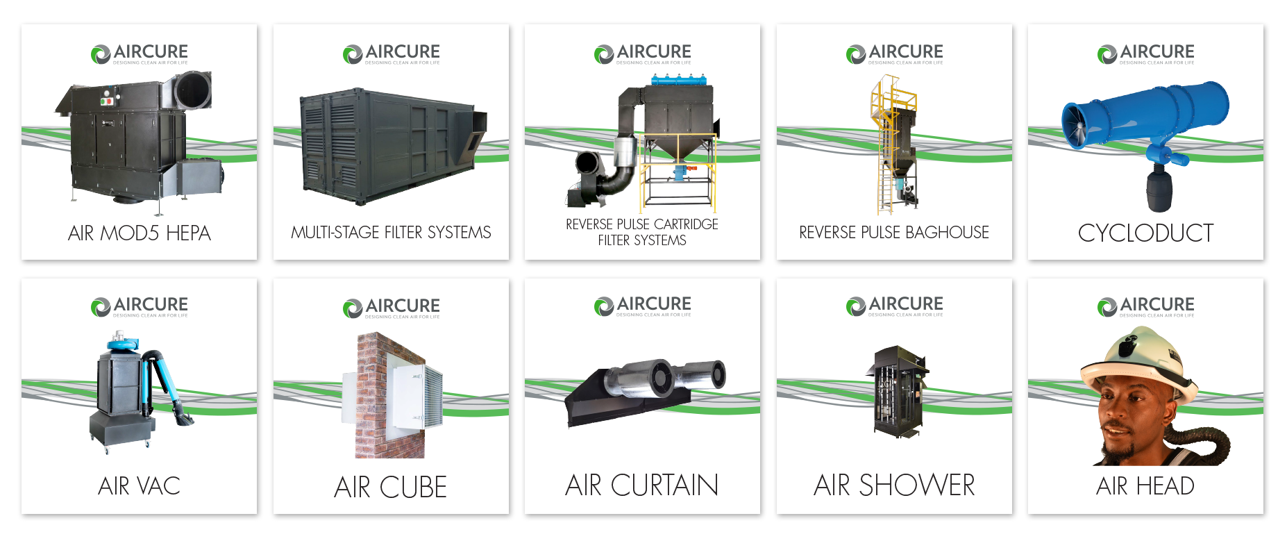AIRCURE's New Brochures