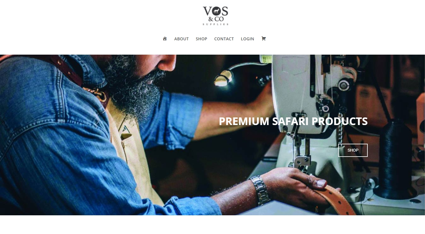 Vos and Co online shop